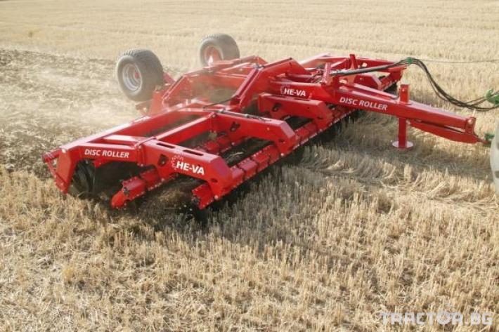 Брани He-Va Дискова брана HE-VA DISK-Roller-Дания 0 - Трактор БГ