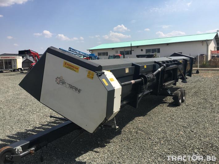 Хедери за жътва Zaffrani Безредов 9,4 м. 1 - Трактор БГ
