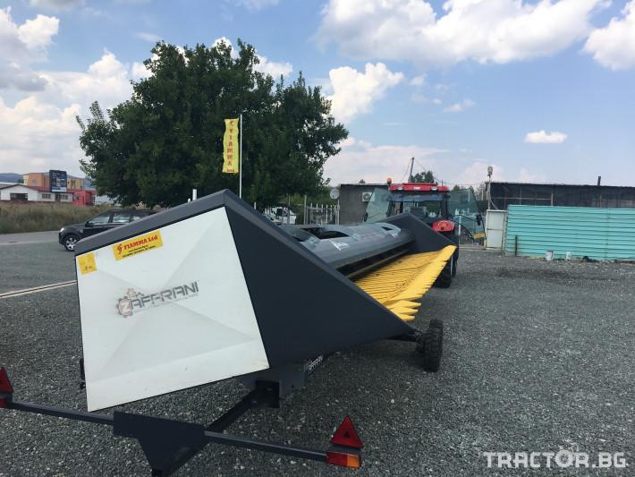 Хедери за жътва Zaffrani Безредов 9,4 м. 3 - Трактор БГ