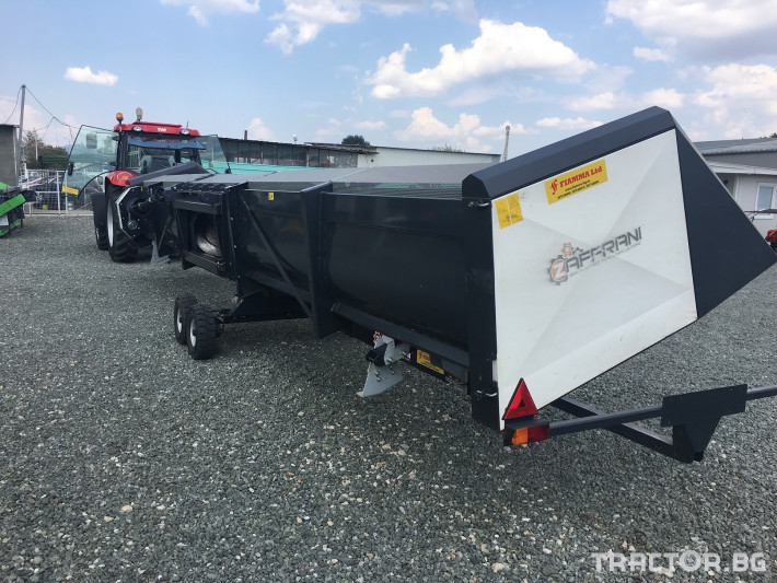 Хедери за жътва Zaffrani Безредов 9,4 м. 4 - Трактор БГ