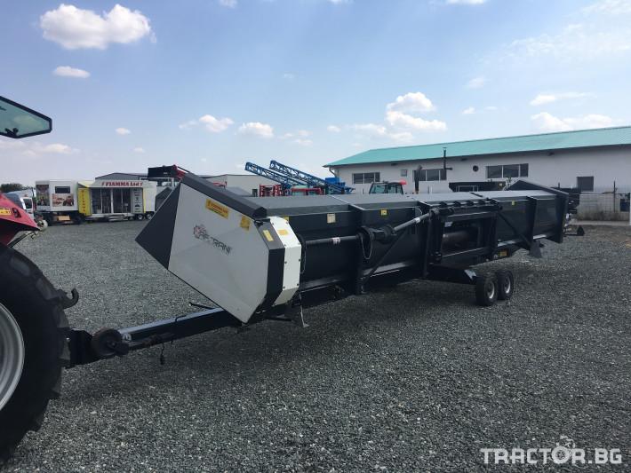 Хедери за жътва Zaffrani Безредов 9,4 м. 6 - Трактор БГ