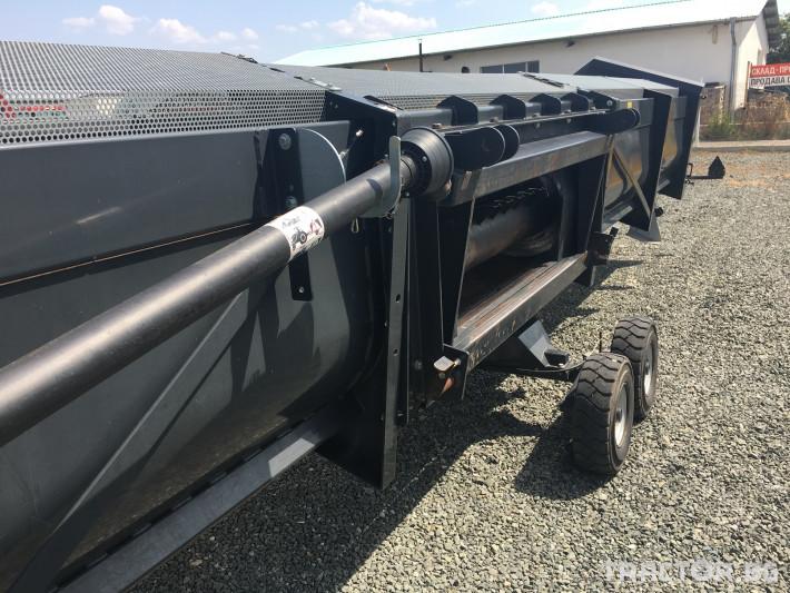 Хедери за жътва Zaffrani Безредов 9,4 м. 10 - Трактор БГ