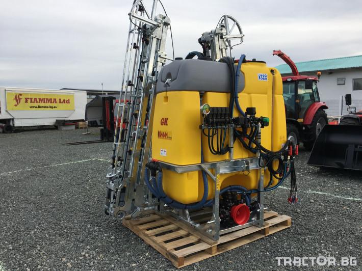 Пръскачки Moccia GK 1200 /18 0 - Трактор БГ