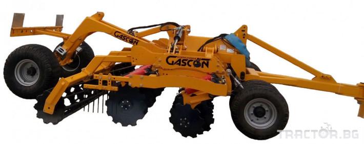 Брани Gascon OTTO  GR 600 - ИСПАНИЯ -Брана 10 - Трактор БГ