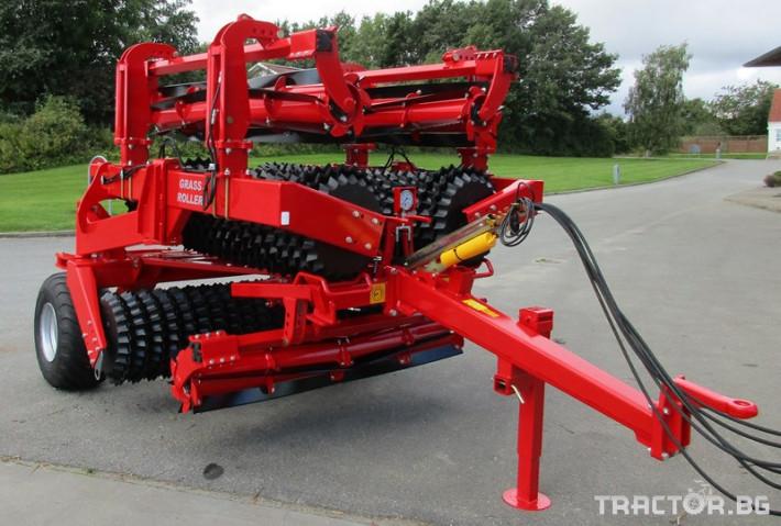 Мулчери Валяк с надробител HE-VA Top-Cutter -Дания 3 - Трактор БГ