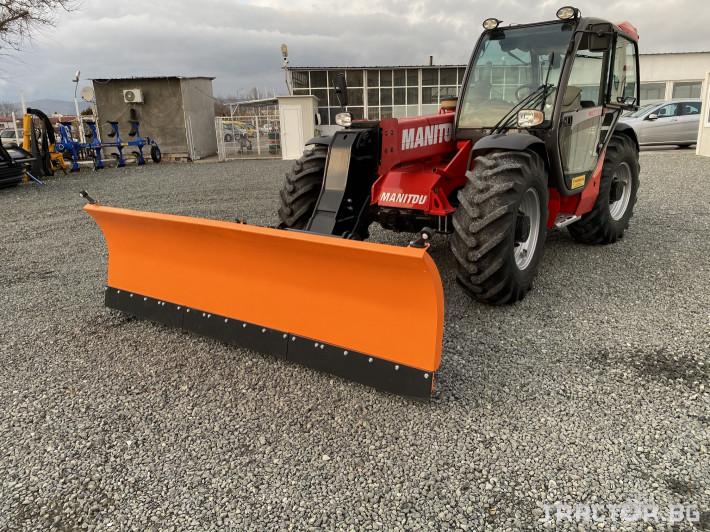 Техника за почистване Гребло за сняг DELEKS -Италия 1 - Трактор БГ