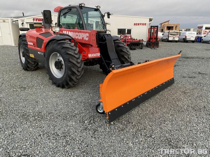 Техника за почистване Гребло за сняг DELEKS -Италия 2 - Трактор БГ