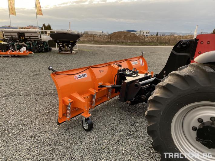 Техника за почистване Гребло за сняг DELEKS -Италия 3 - Трактор БГ