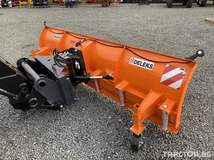 Техника за почистване Гребло за сняг DELEKS -Италия 4 - Трактор БГ