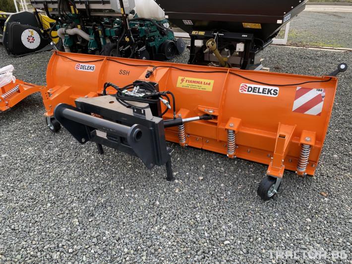 Техника за почистване Гребло за сняг DELEKS -Италия 5 - Трактор БГ