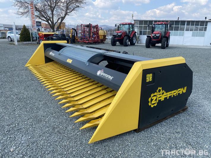 Хедери за жътва Zaffrani N 600 0 - Трактор БГ