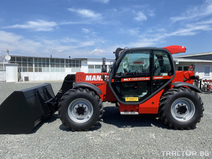 Телескопични товарачи Manitou MLT735-120 LSU Powershift 1 - Трактор БГ