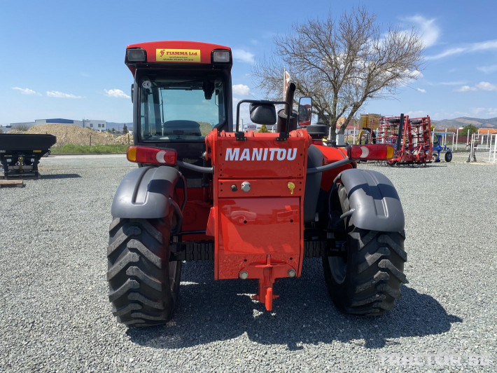 Телескопични товарачи Manitou MLT735-120 LSU Powershift 3 - Трактор БГ