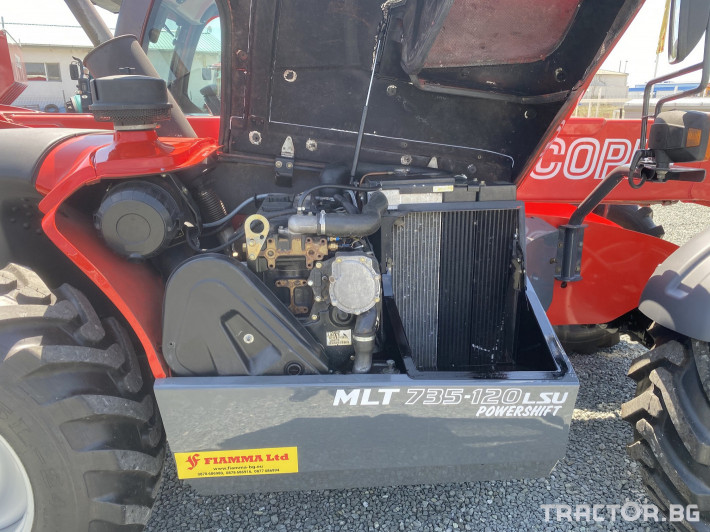 Телескопични товарачи Manitou MLT735-120 LSU Powershift 8 - Трактор БГ